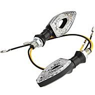 15 indicadores de mudança de direcção LED luz lâmpada para motocicleta moto âmbar (2 peças)