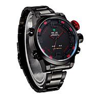 Недорогие Фирменные часы-WEIDE Муж. Кварцевый Японский кварц Наручные часы Будильник Календарь Секундомер Защита от влаги Спортивные часы LED С двумя часовыми