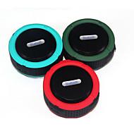 お買い得  スピーカー-屋外ワイヤレスBluetoothポータブルスピーカーブルートゥーススピーカー吸盤カードミニスピーカー防水小さな音