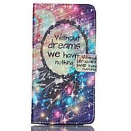 voordelige Galaxy Note-serie hoesjes / covers-Voor Samsung Galaxy Note Kaarthouder / Portemonnee / met standaard / Flip hoesje Volledige behuizing hoesje Woord / tekst PU-leer Samsung