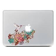 저렴한 -망막 디스플레이 / 프로 / 프로 맥북 에어에 대한 까치 꽃 장식 피부 스티커