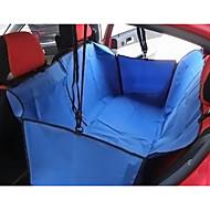 abordables Hogar y Mascotas-Gato / Perro Cobertor de Asiento Para Coche Mascotas Cestas Un Color Portátil / Plegable Marrón / Rojo / Azul Para mascotas