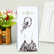 Для Кейс для  Samsung Galaxy С узором Кейс для Задняя крышка Кейс для Соблазнительная девушка PC Samsung A8 / A7 / A5 / A3