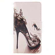 For Samsung Galaxy Note Wallet / Card Holder / with Stand / Flip Case Full Body Case Sexy Lady PU Leather Samsung Note 4