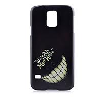 Назначение Кейс для  Samsung Galaxy Чехлы панели С узором Задняя крышка Кейс для Черный и белый PC для Samsung S6 edge plus S5 Mini S5