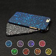 Недорогие Кейсы для iPhone 8 Plus-Назначение iPhone X iPhone 8 iPhone 6 iPhone 6 Plus Чехлы панели Ультратонкий Задняя крышка Кейс для Сияние и блеск Мягкий Силикон для