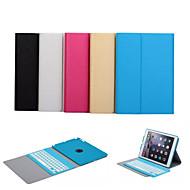 povoljno -automatsko buđenje / spavanja bluetooth tipkovnice prijenosnih slučaj za Apple iPad zraka (assorted boja)