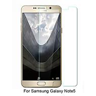 asling® 0,26 milímetros borda arredondada transparente 9h vidro temperado protetor de tela de membrana para Samsung Galaxy Nota 5 (5,7 polegadas)