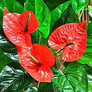 お買い得  -人工花 1 ブランチ 欧風 植物 テーブルトップフラワー