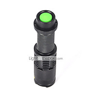 5 LED Flashlights / Torch LED 2200 lm 5 Mode Cree XM-L T6 Zoomable Mini Impact Resistant Rechargeable Waterproof Strike Bezel Tactical