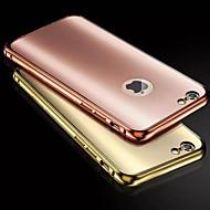 Назначение iPhone 8 iPhone 8 Plus iPhone 6 iPhone 6 Plus Чехлы панели Покрытие Задняя крышка Кейс для Сплошной цвет Твердый Металл для