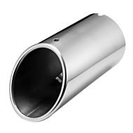punta del tubo de escape del silenciador de escape cromada para el audi a4 b8 1.8t 2.0t 2009-2016
