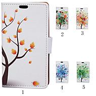 Για Samsung Galaxy Θήκη Θήκη καρτών / Πορτοφόλι / με βάση στήριξης / Ανοιγόμενη tok Πλήρης κάλυψη tok Δέντρο Συνθετικό δέρμα SamsungAce 4