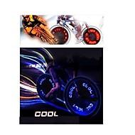voordelige Zaklampen, lantaarns & lampen-wiel lichten LED - Wielrennen Kleurveranderend AG10 90 Lumens Batterij Fietsen motocycle Rijverlichting
