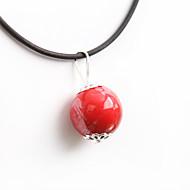 Недорогие $0.99 Модное ювелирное украшение-Жен. Ожерелья с подвесками - Классика, Мода Красный Ожерелье Бижутерия Назначение Для вечеринок, Повседневные
