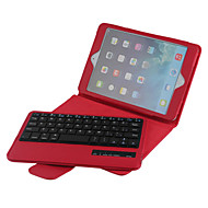 cheap iPad Keyboards-High Quality Leather Flip Folding Case Bluetooth Keyboard for iPad Mini 4 7.9 inch (Assorted Colors)