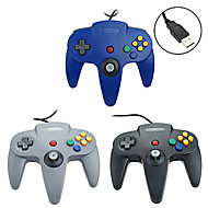 cheap -PC-N64001 Wired Game Controller For Wii U / Wii ,  Gaming Handle Game Controller Metal / ABS 1 pcs unit