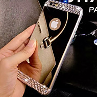 economico Telecomandi a distanza-Custodia Per Apple iPhone 8 iPhone 8 Plus iPhone 6 iPhone 6 Plus iPhone 7 Plus iPhone 7 Con diamantini A specchio Per retro Tinta unica