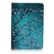 śliwkowy wzór pu skóra pełna przypadku ciała z podstawą dla iPad Mini 3/2/1