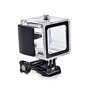 Χαμηλού Κόστους Αξεσουάρ για GoPro-ομαλή Frame Προστατευτική θήκη Καπάκι Φακού Αδιάβροχο περίβλημα Μονόποδο Τριπόδι Βάση Αδιάβροχη Όλα σε ένα Βολικό Για την Κάμερα Δράσης