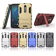 For Samsung Galaxy Case Shockproof / with Stand Case Back Cover Case Armor PC Samsung J3 / J2 / J1 Ace