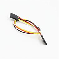 DuPont 4-pin 2.54mm naaras nainen laajennus lanka kaapeli arduino- (20cm)