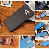 Для Кейс для  Samsung Galaxy Ультратонкий Кейс для Задняя крышка Кейс для Один цвет PC SamsungS6 edge plus / S6 edge / S6 / S5 Mini / S5