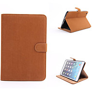 PU lær magnetisk tilfellet Smart Cover stand flip deksel sak for ipad mini 3/2/1 retina