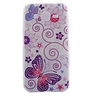 Недорогие Galaxy Core 2-Для Кейс для  Samsung Galaxy С узором Кейс для Задняя крышка Кейс для Бабочка TPU SamsungJ7 / J5 / J2 / J1 Ace / J1 / Grand Prime / Core