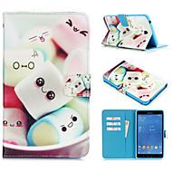 お買い得  携帯電話ケース-ケース 用途 Samsung Galaxy タブ9.7 タブ8.0 Samsung Galaxy ケース フルボディーケース PUレザー のために Tab 4 10.1 Tab 4 7.0