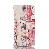 tanie Etui do iPhone-Na Etui iPhone 6 / Etui iPhone 6 Plus Etui na karty / Portfel / Z podpórką Kılıf Futerał Kılıf Kot Twarde Skóra PU AppleiPhone 6s Plus/6