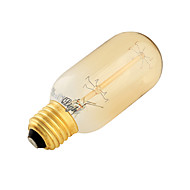E26/E27 LED Globe Bulbs B 7 Tungsten Filament SMD 400 lm Warm White 3000 K Decorative AC 220-240 V