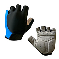Sports Gloves Bike Gloves / Cycling Gloves Wearable Breathable Wearproof Cushion Fingerless Gloves Silicone Synthetic Leather Gel Lycra