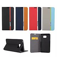 роскошный бумажник с слот для карт памяти Держатель стиле смешанные цвета кожаный чехол для Samsung Galaxy Примечание 3/4 нота /