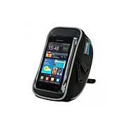 billige -ROSWHEEL Mobilveske Vesker til sykkelstyre 4.8 tommers Vanntett Anvendelig Berøringsskjerm Telefon/Iphone Sykling til Samsung Galaxy S4
