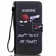 Недорогие Чехлы и кейсы для Galaxy Core Prime-Для Кейс для  Samsung Galaxy Кошелек / Бумажник для карт / со стендом / Флип / С узором Кейс для Чехол Кейс для Слова / выражения
