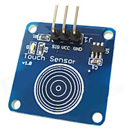 お買い得  Arduino 用アクセサリー-Arduinoのためのタッチセンサ静電容量式タッチ・スイッチ・モジュール - ブルー