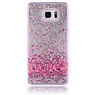 Для Samsung Galaxy Note Движущаяся жидкость Кейс для Задняя крышка Кейс для Сияние и блеск PC Samsung Note 5