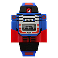cheap Boy's Watches-Wrist Watch Digital Calendar / date / day Silicone Band Digital Ladies Charm Fashion Blue / Red / Grey - Yellow Red Blue Two Years Battery Life / Maxell626+2025