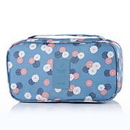 preiswerte Alles fürs Reisen-Reisekosmetiktasche Reisekoffersystem Tragbar Kulturtasche für Kleider BH Nylon / Blumen