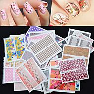 abordables -30 pcs Bijoux pour ongles Manucure Manucure pédicure Adorable Mode Quotidien / Bijoux à ongles