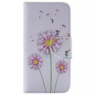 Χαμηλού Κόστους Galaxy S5 Mini Θήκες / Καλύμματα-Για Samsung Galaxy Θήκη Πορτοφόλι / Θήκη καρτών / με βάση στήριξης / Ανοιγόμενη tok Πλήρης κάλυψη tok Ραδίκι Συνθετικό δέρμα SamsungS6