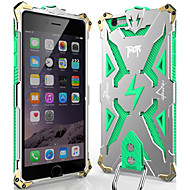 abordables Moda en Tendencia-Funda Para Apple iPhone 6 iPhone 6 Plus Antipolvo Antigolpes Funda Trasera Armadura Dura Metal para iPhone 6s Plus iPhone 6s iPhone 6