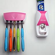 お買い得  浴室用小物-歯ブラシホールダー 浴槽 プラスチック 多機能 / 環境に優しい