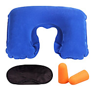 Sleep mask Neck Pillow 3D Breathability Ultra Light(UL) Noiseless Sun Shades Inflated Outdoor Traveling