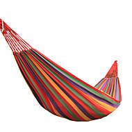 キャンプ用ハンモック 通気性 超軽量(UL) キャンバス のために ハイキング ビーチ ピクニック 屋外