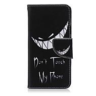 voordelige Mobiele telefoonhoesjes-hoesje Voor LG LG Nexus 5X LG hoesje Kaarthouder Portemonnee met standaard Flip Volledig hoesje Zwart & Wit Hard PU-nahka voor