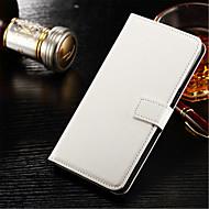 Недорогие Чехлы и кейсы для Galaxy S2-Кейс для Назначение SSamsung Galaxy Samsung Galaxy S7 Edge Кошелек / Бумажник для карт / со стендом Чехол Однотонный Твердый Кожа PU для S7 edge / S7 / S6 edge plus