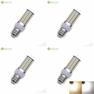 cheap LED Corn Lights-8W E14 G9 GU10 B22 E26 E26/E27 LED Corn Lights Recessed Retrofit 180 SMD 2835 700-800 lm Warm White Natural White 3000-3500  6000-6500K K