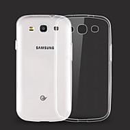 お買い得  Galaxy S6 Edge Plus ケース / カバー-のために Samsung Galaxy ケース クリア ケース バックカバー ケース ソリッドカラー TPU Samsung S6 edge plus / S6 edge / S6 / S5 / S4 / S3